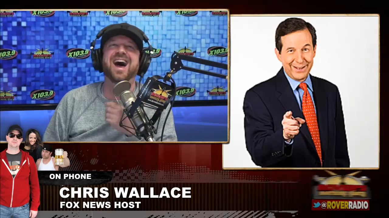 Chris Wallace from Fox News – full interview – Rover's